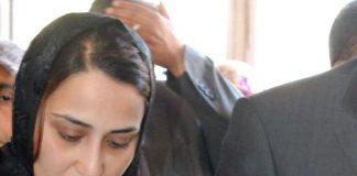 Dr. Ersin Arslan'ın eşi